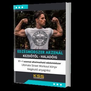 Edzésmódszer arzenál – 17+1 edzésmódszer – Ultimate Street Workout könyv kiegészítő anyagrész